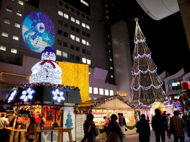 新梅田シティを彩る光の祭典