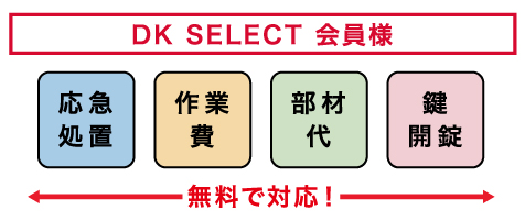 DK SELECT会員様