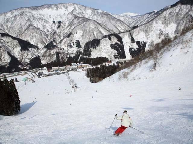 白山一里野温泉スキー場